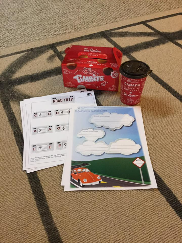 Roadtrip Themed Lessons and a FREE game for the car!
