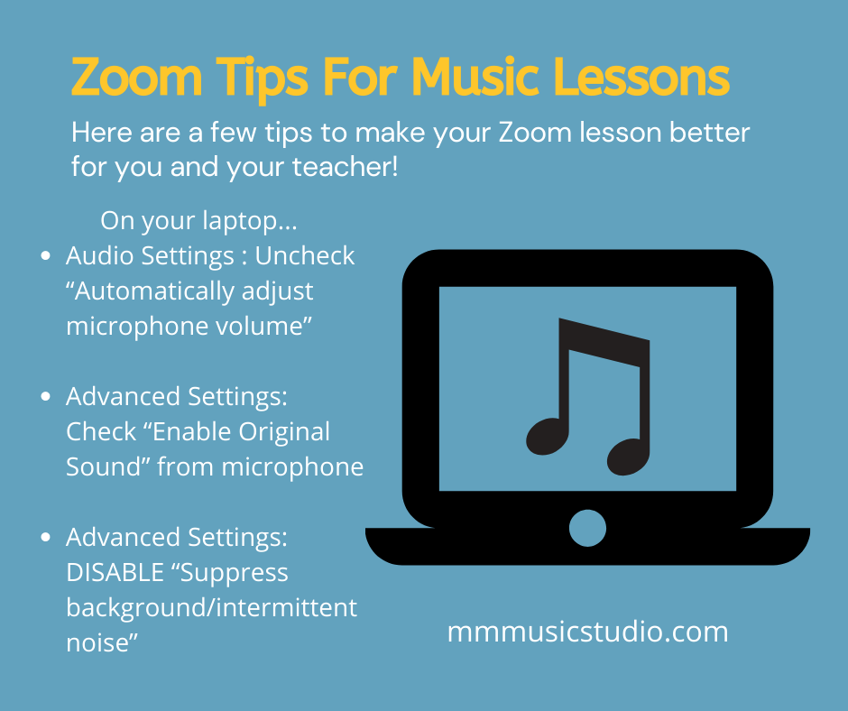 Zoom Tips for Even Better Lessons
